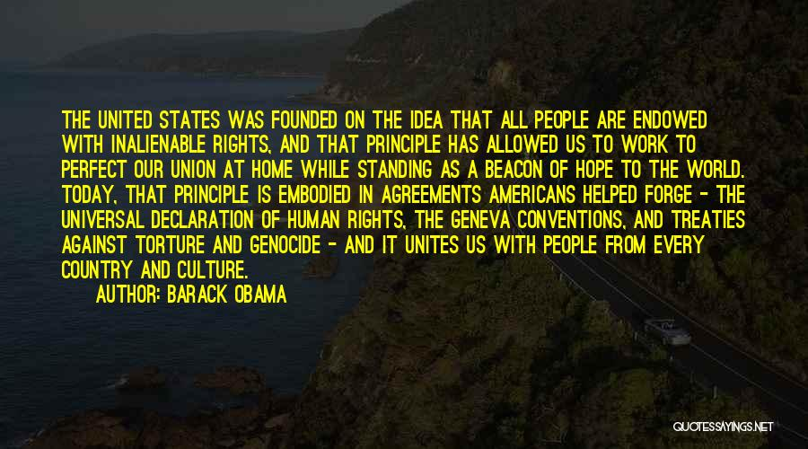 Un Declaration Of Human Rights Quotes By Barack Obama