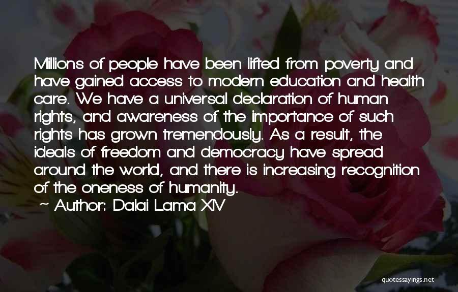 Un Declaration Of Human Rights Quotes By Dalai Lama XIV