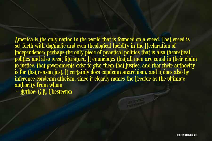 Un Declaration Of Human Rights Quotes By G.K. Chesterton