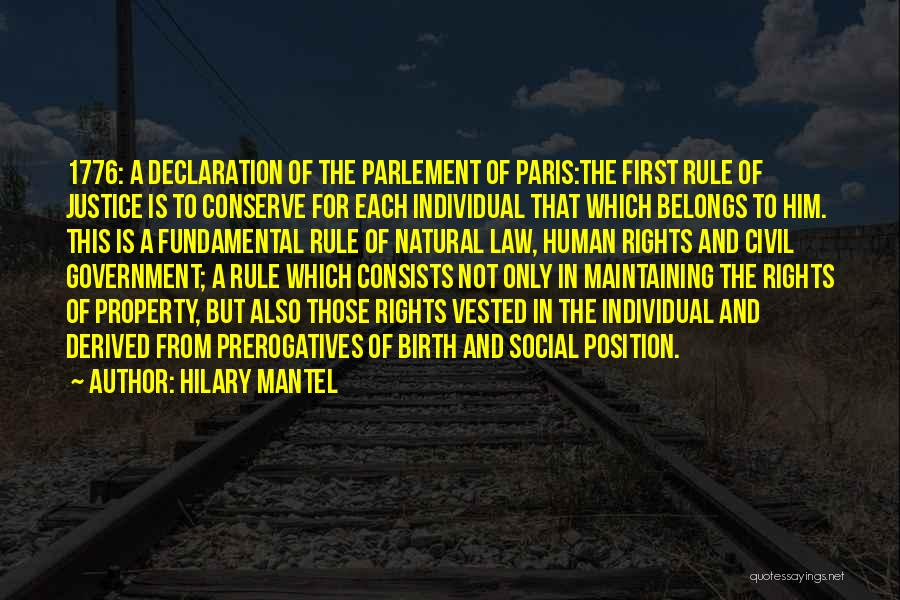Un Declaration Of Human Rights Quotes By Hilary Mantel