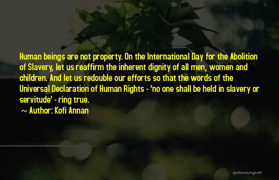 Un Declaration Of Human Rights Quotes By Kofi Annan