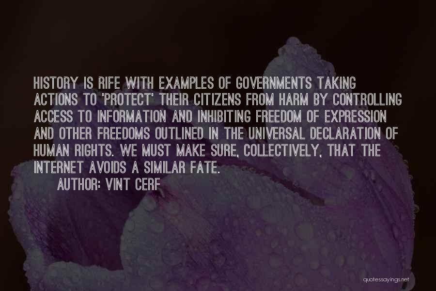Un Declaration Of Human Rights Quotes By Vint Cerf