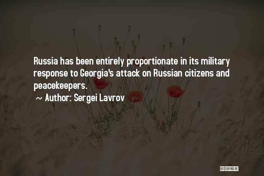 Un Peacekeepers Quotes By Sergei Lavrov