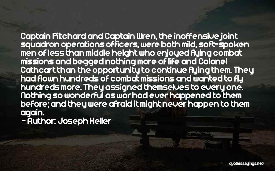 Un Squadron Quotes By Joseph Heller