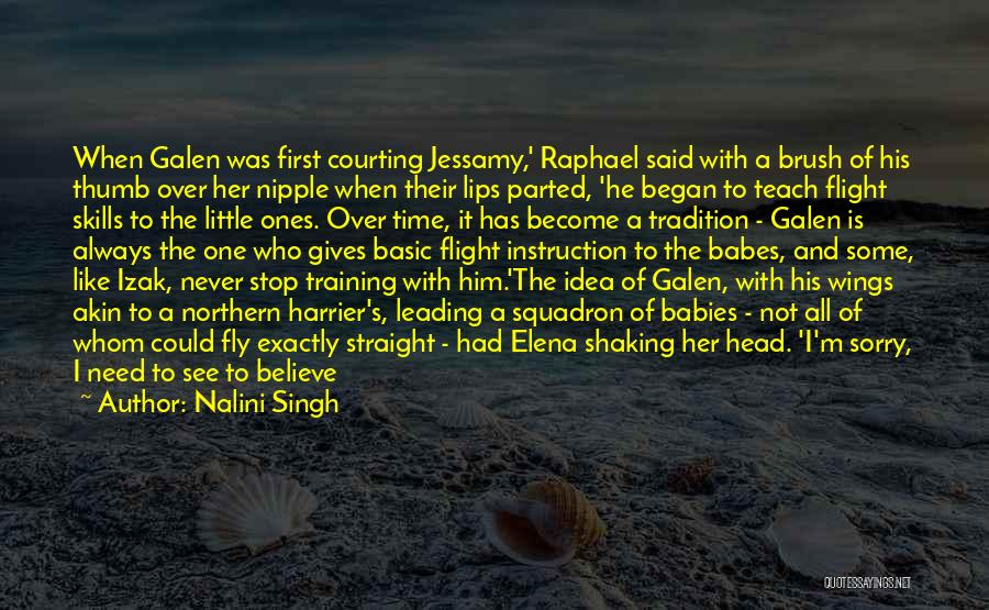 Un Squadron Quotes By Nalini Singh
