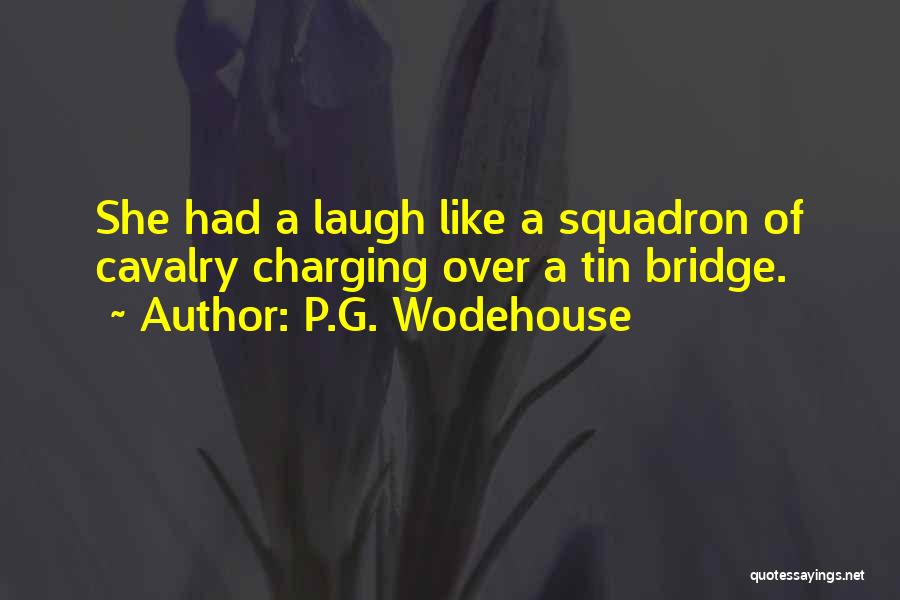 Un Squadron Quotes By P.G. Wodehouse