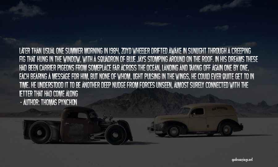 Un Squadron Quotes By Thomas Pynchon