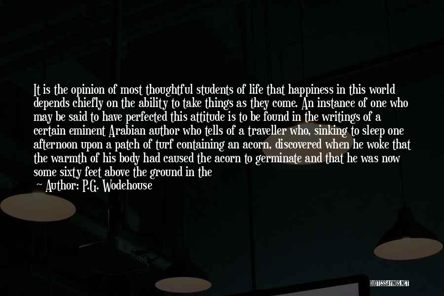 Unable To Decide Quotes By P.G. Wodehouse