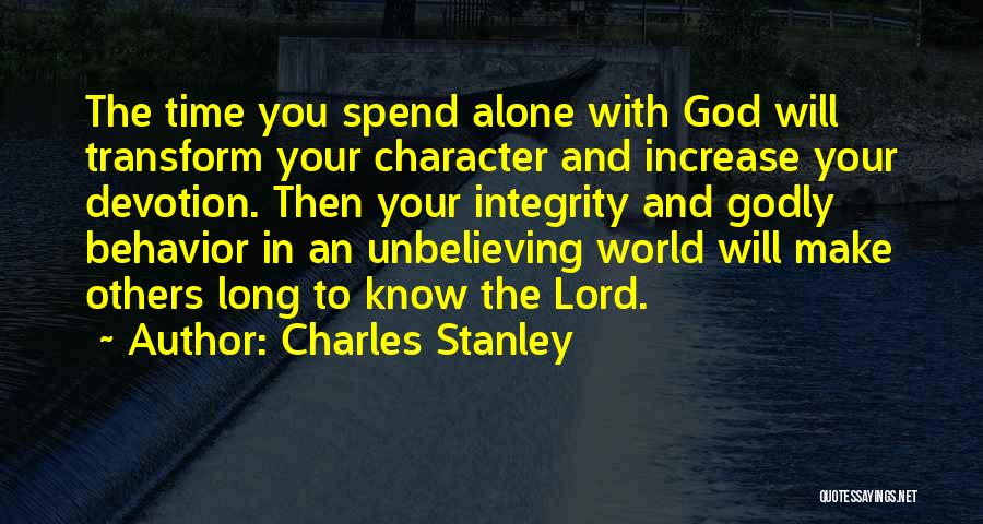 Unbelieving Quotes By Charles Stanley