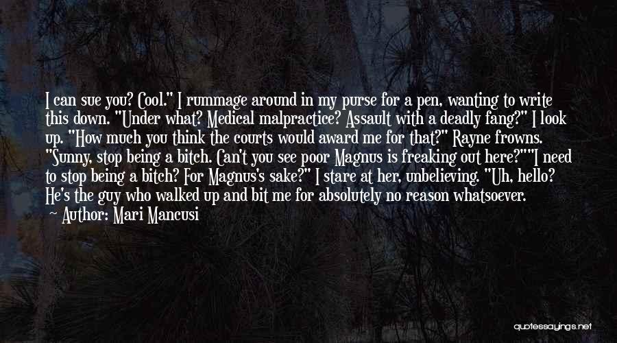 Unbelieving Quotes By Mari Mancusi