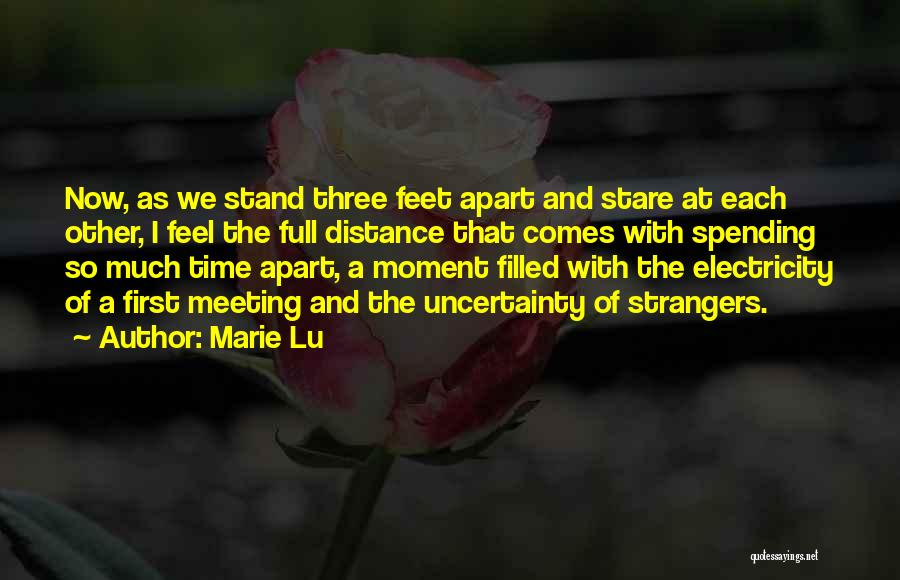 Uncertainty Of Love Quotes By Marie Lu