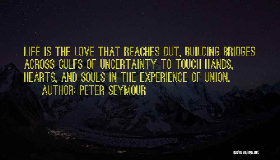 Uncertainty Of Love Quotes By Peter Seymour