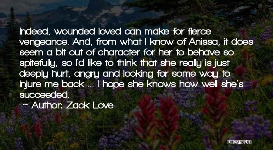 Uncertainty Of Love Quotes By Zack Love