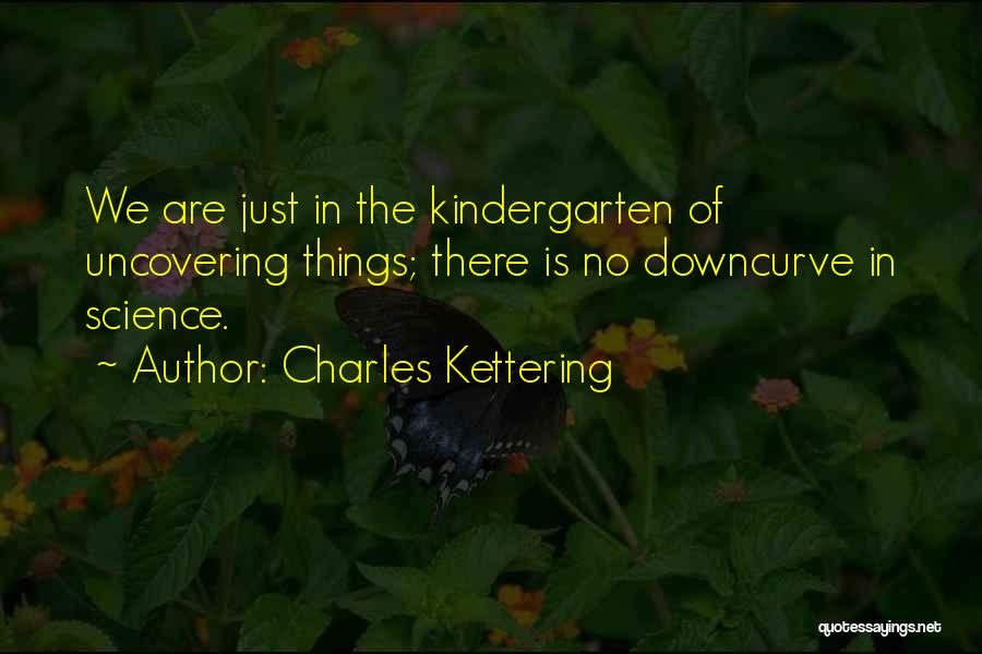 Uncovering Quotes By Charles Kettering