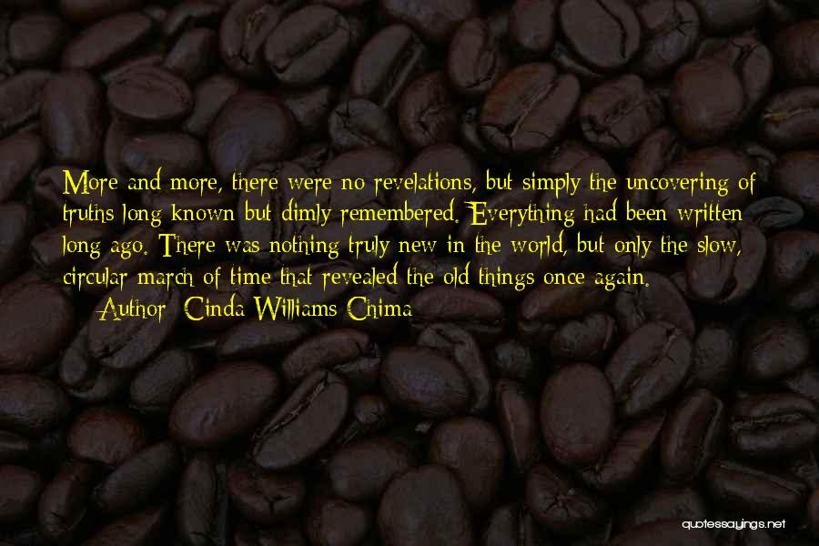 Uncovering Quotes By Cinda Williams Chima