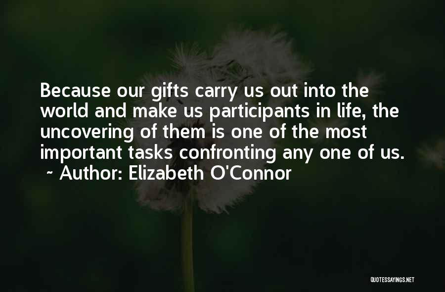 Uncovering Quotes By Elizabeth O'Connor
