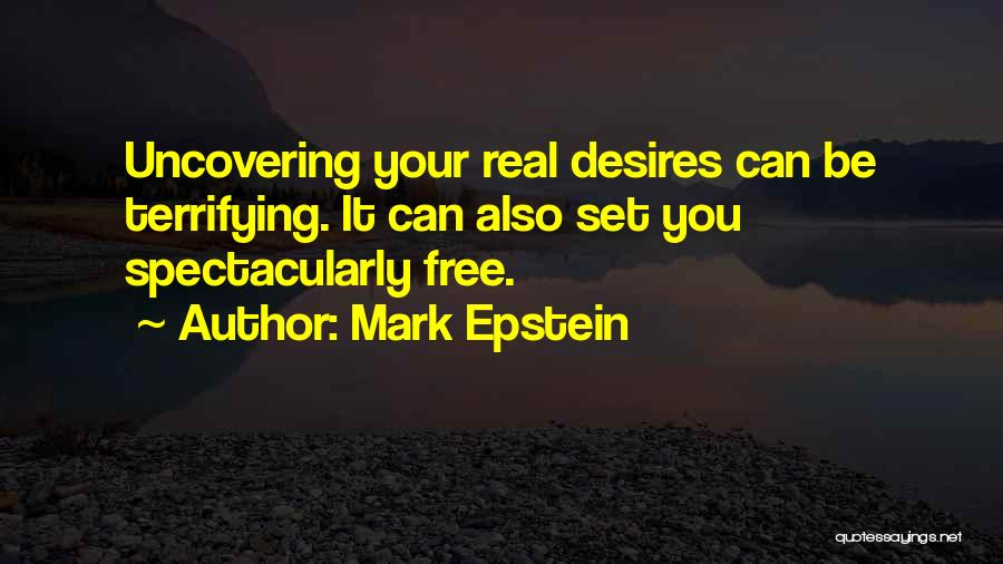 Uncovering Quotes By Mark Epstein