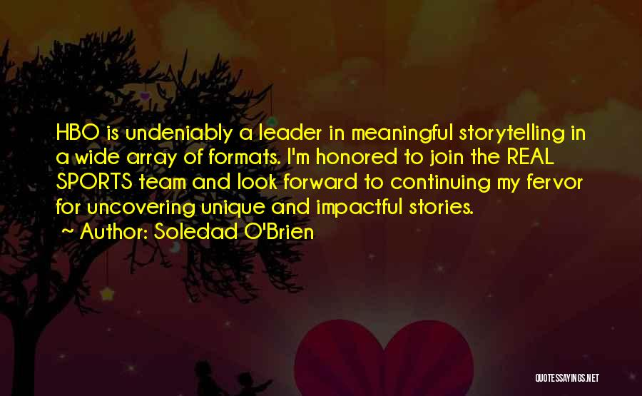 Uncovering Quotes By Soledad O'Brien