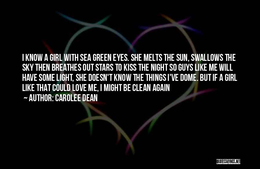 Under The Dome Best Quotes By Carolee Dean