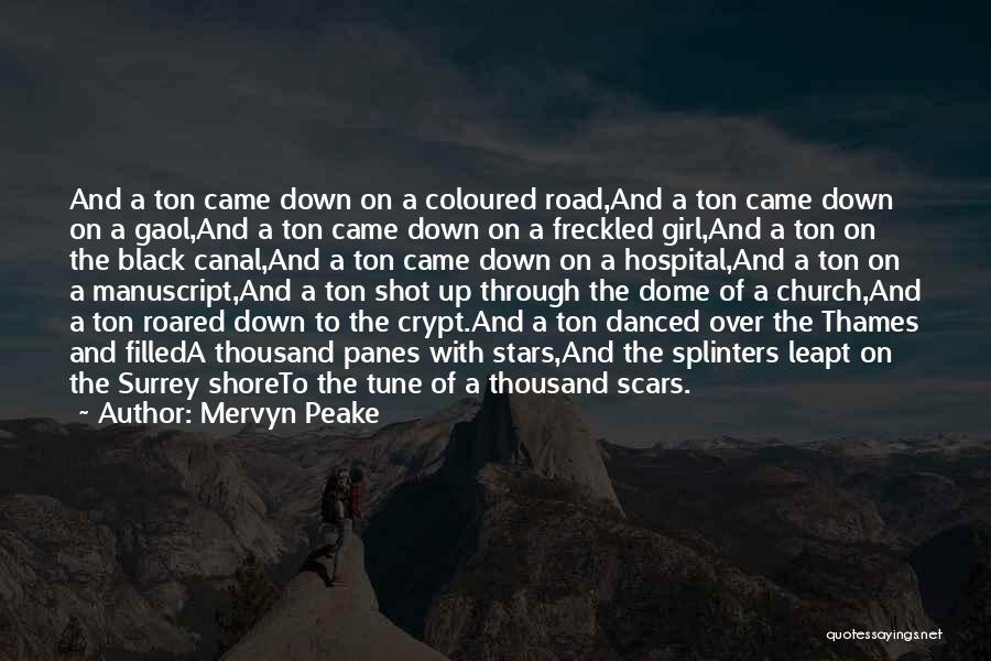 Under The Dome Best Quotes By Mervyn Peake