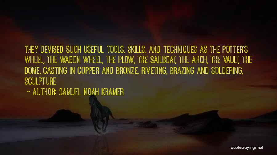 Under The Dome Best Quotes By Samuel Noah Kramer
