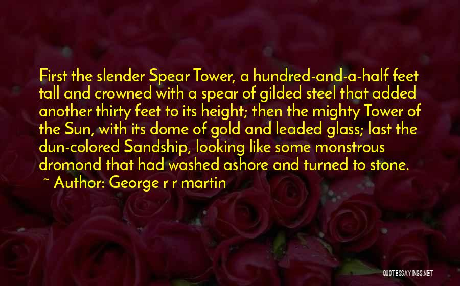 Under The Dome Quotes By George R R Martin