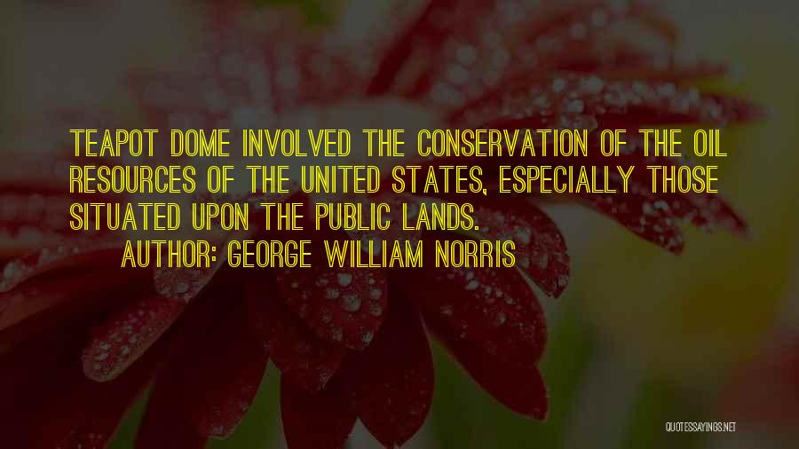 Under The Dome Quotes By George William Norris