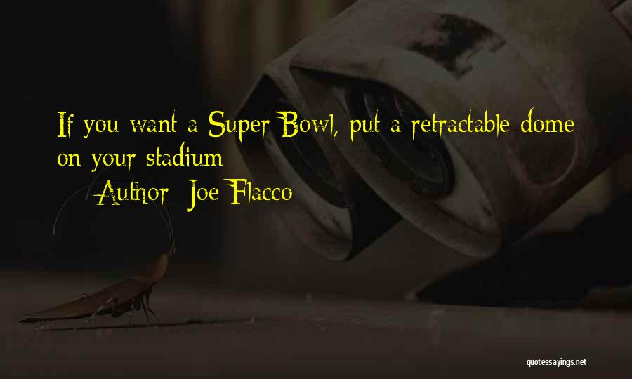 Under The Dome Quotes By Joe Flacco