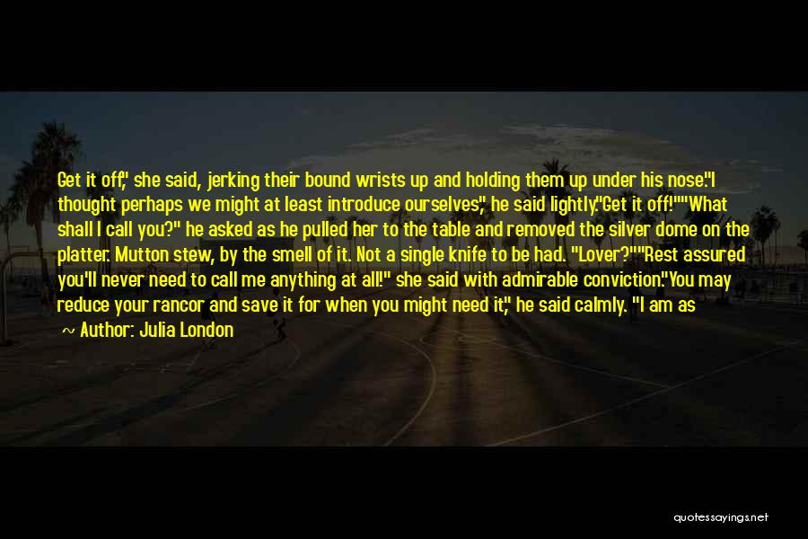 Under The Dome Quotes By Julia London