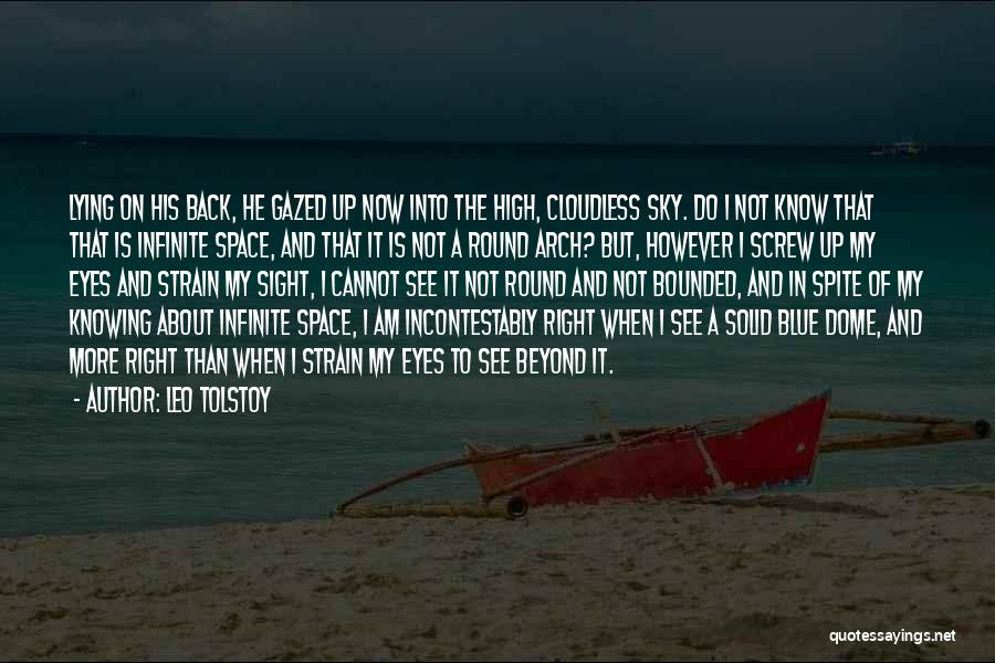 Under The Dome Quotes By Leo Tolstoy