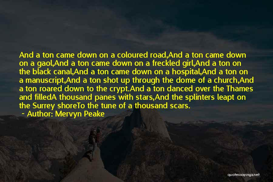 Under The Dome Quotes By Mervyn Peake