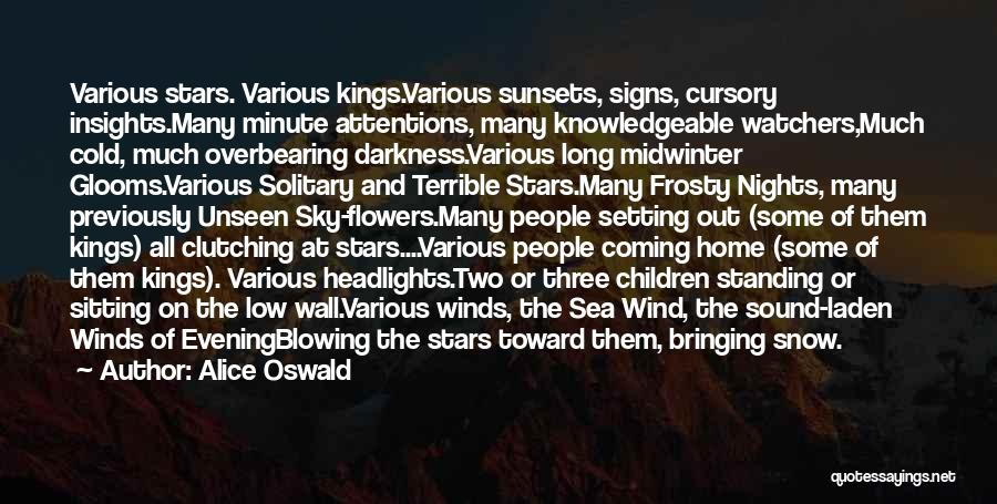 Under The Sea Wind Quotes By Alice Oswald