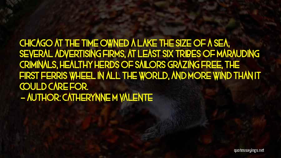Under The Sea Wind Quotes By Catherynne M Valente