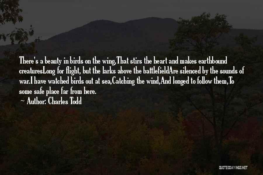 Under The Sea Wind Quotes By Charles Todd