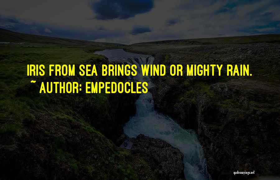 Under The Sea Wind Quotes By Empedocles