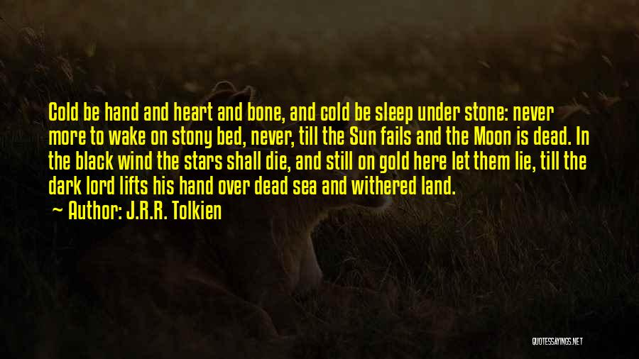 Under The Sea Wind Quotes By J.R.R. Tolkien