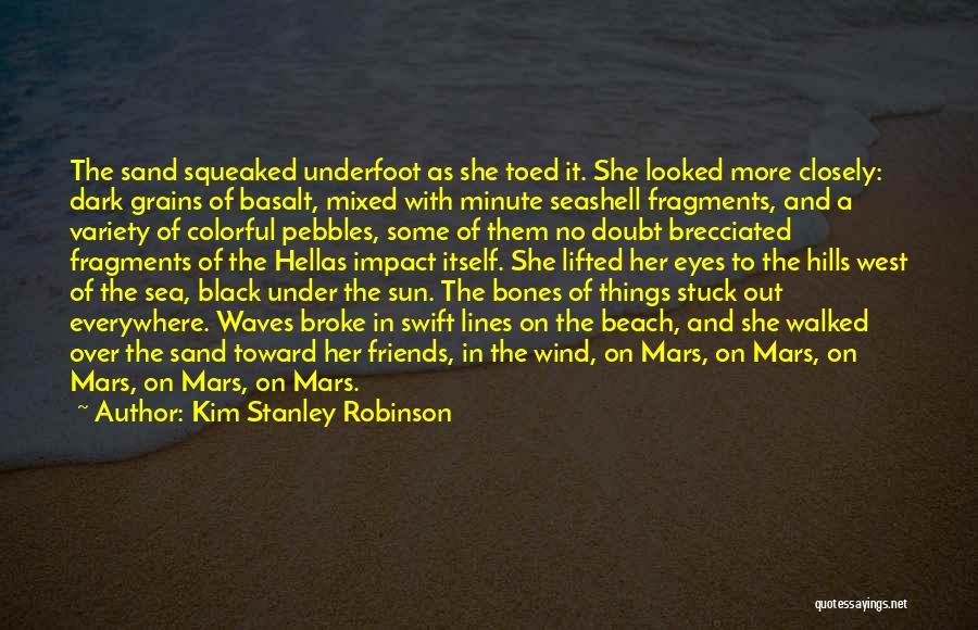 Under The Sea Wind Quotes By Kim Stanley Robinson
