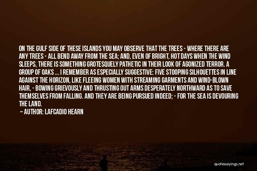 Under The Sea Wind Quotes By Lafcadio Hearn