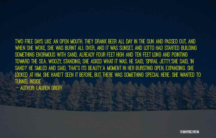 Under The Sea Wind Quotes By Lauren Groff