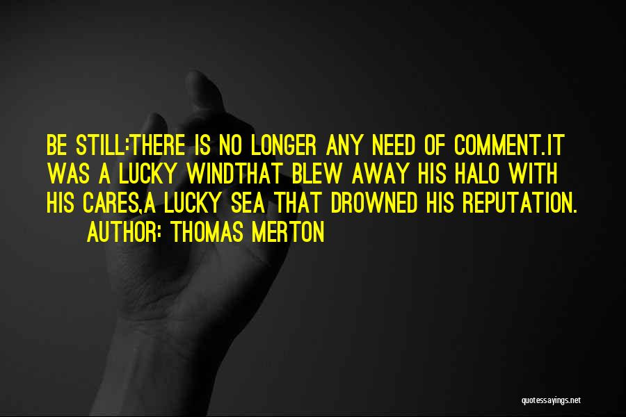 Under The Sea Wind Quotes By Thomas Merton