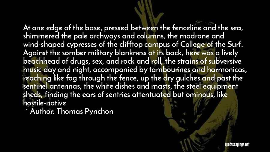 Under The Sea Wind Quotes By Thomas Pynchon