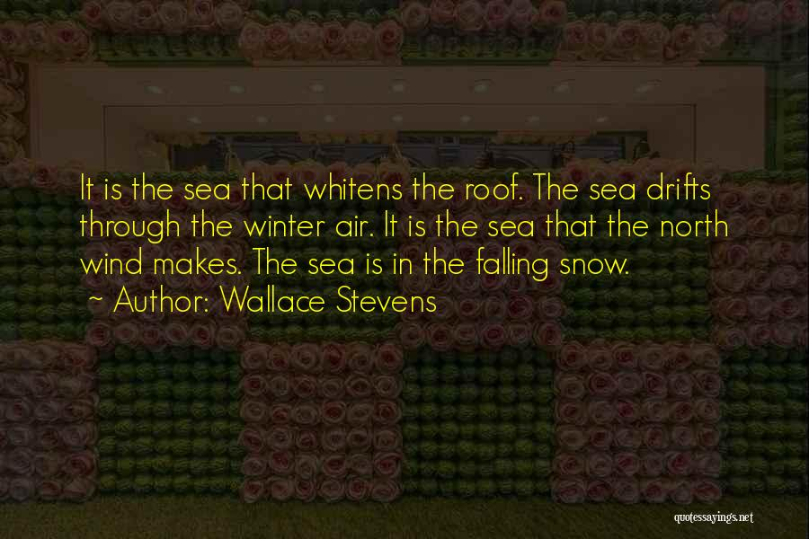 Under The Sea Wind Quotes By Wallace Stevens