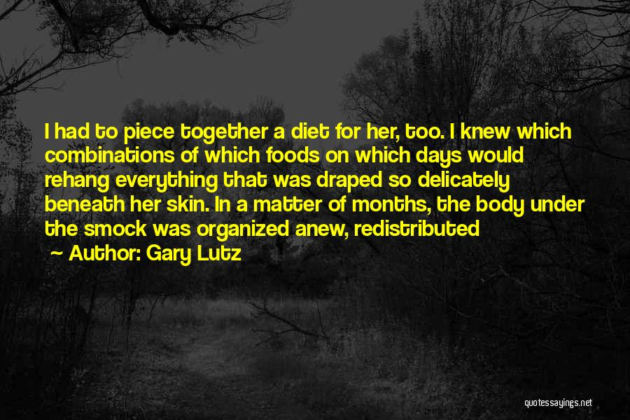 Under The Skin Quotes By Gary Lutz