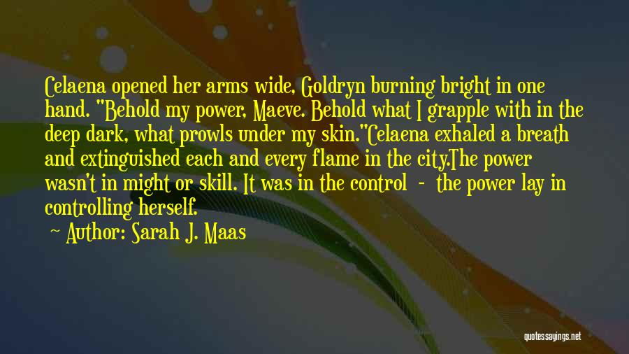 Under The Skin Quotes By Sarah J. Maas