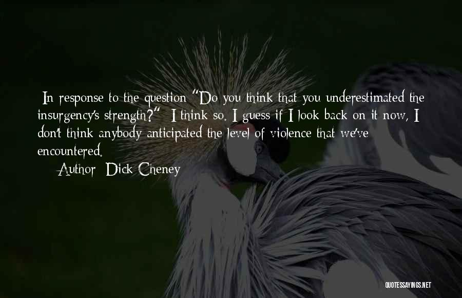 Underestimated Quotes By Dick Cheney