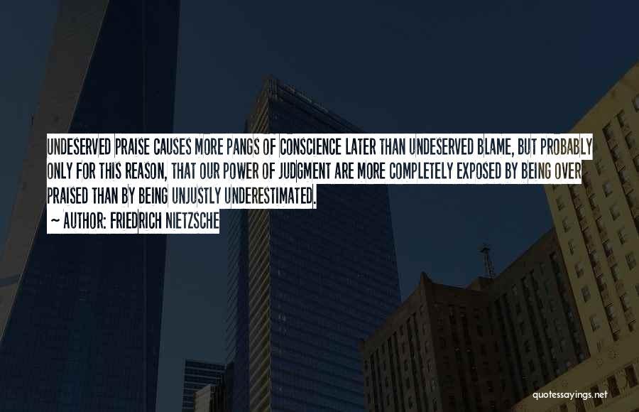 Underestimated Quotes By Friedrich Nietzsche