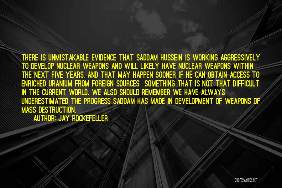 Underestimated Quotes By Jay Rockefeller
