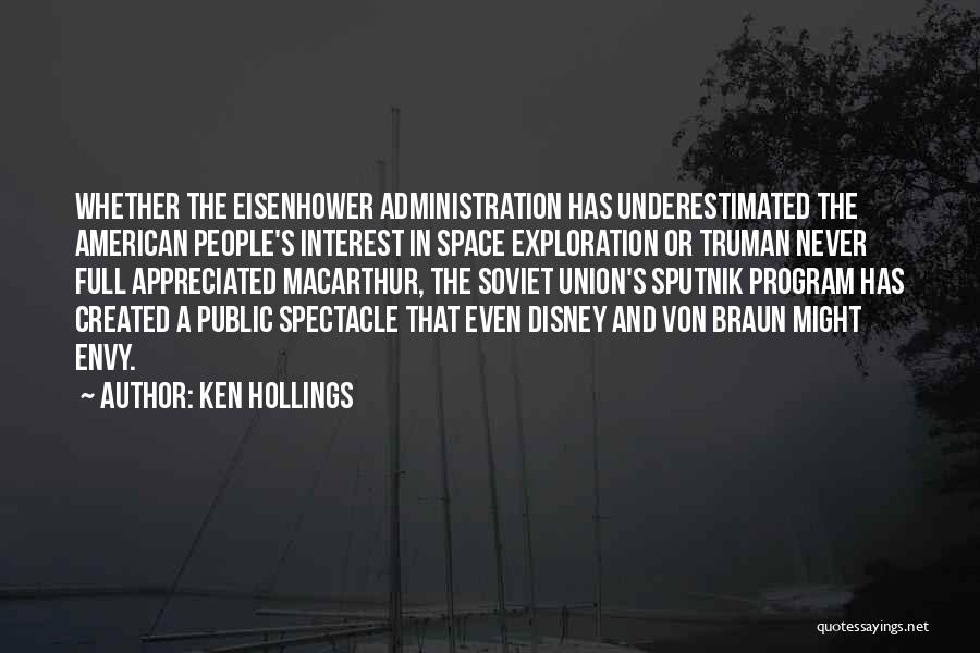 Underestimated Quotes By Ken Hollings