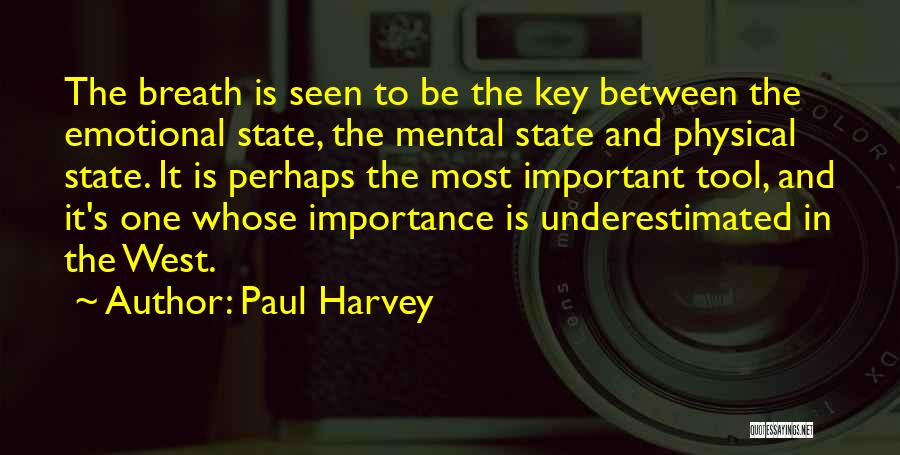 Underestimated Quotes By Paul Harvey