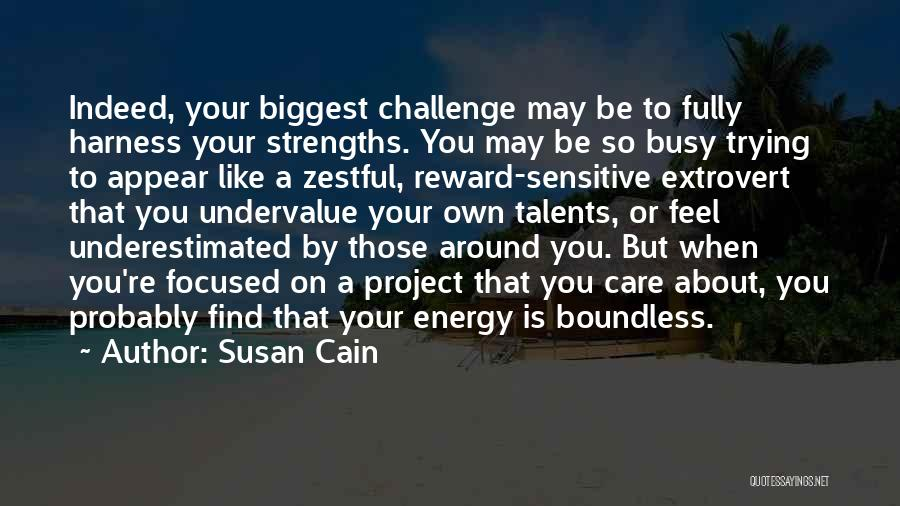 Underestimated Quotes By Susan Cain